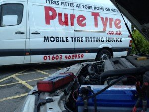 Mobile Battery Fitting wymondham