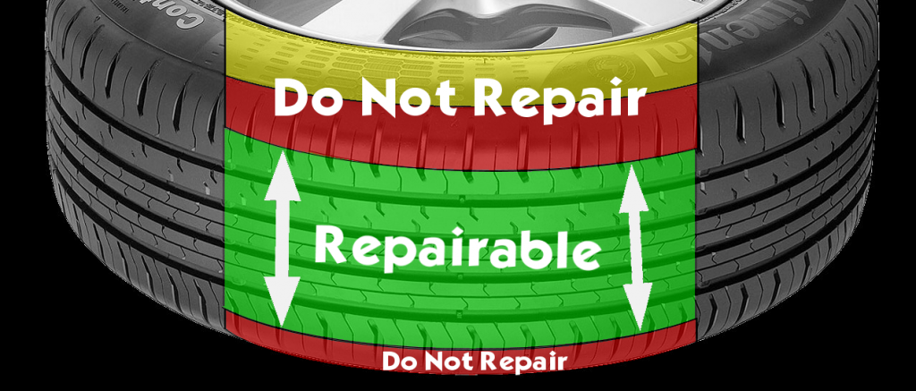 Run Flat Tire Repair >> We are your tire specialist : Flat Tire Repairs - After Driving on Flat Run-Flat Tire