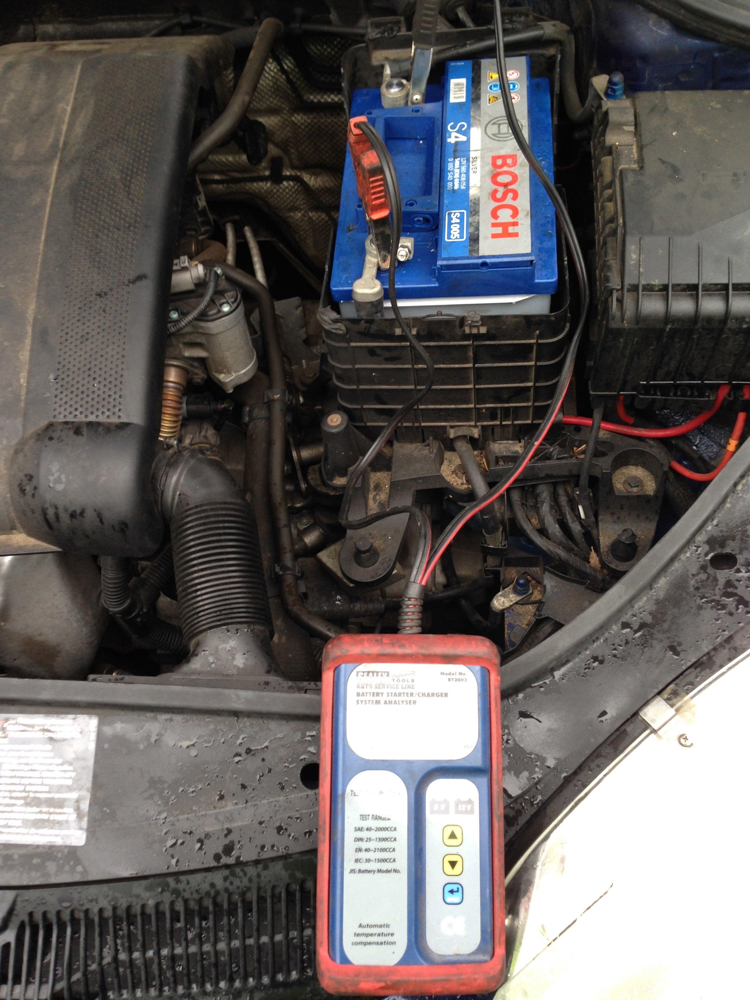 Battery testing Norwich