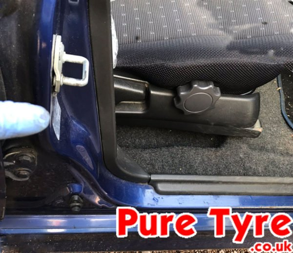 Volvo v40 tyre pressure