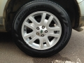 Tyre dressing and alloy wheel cleaned after new tyre fitted.JPG